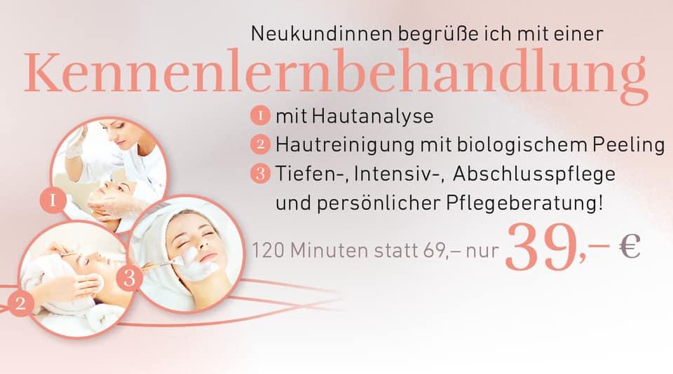 Kennenlernbehandlung Kosmetikstudio bruchköbel